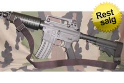 KM - 2 Punkts Rem M16 serien Sort..