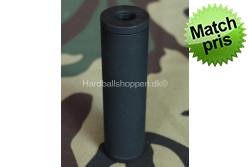 Lyddæmper - 110x30, 14mm med..