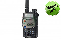 Baofeng UV-5RA Radio, Sort..