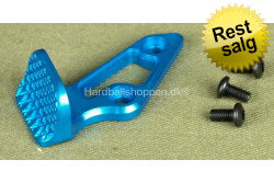 AIP Aluminum Skidproof Thumb Rest - Blue (R)..