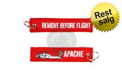 Apache RemoveBefor nøglering, 12,5 x3 cm..