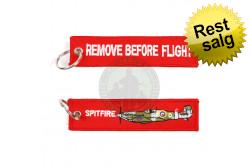 Spitfire RemoveBF nøglering, 12,5 x3 cm..