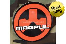 Magpul PTS -  klistermærke Logo rød rund Ø 9 cm..