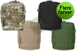 Warrior Assault Systems - Medium MOLLE Utility Pouch Zipped..