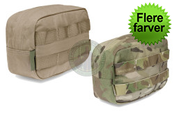 Warrior Assault Systems - Horizontal Utility Pouch Zipped..