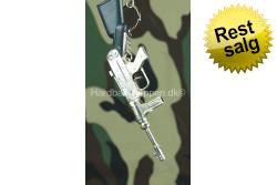 Nøglering Stor Maskinpistol..