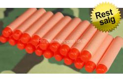 Soft Bullet, Orange skud, 20 stk..