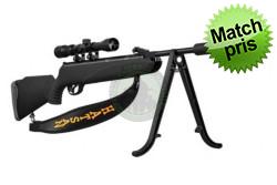 Hatsan - Model 85 Sniper 4,5 mm 305 m/s inkl kikkert og lydd..