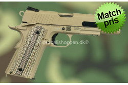 CyberGun - Colt 1911, Rail, M45A1, Tan..